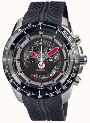 Breil Abarth нержавеющая сталь ip хронограф черный & красный циферблат TW1488