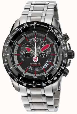 Breil Abarth нержавеющая сталь ip хронограф черный & красный циферблат TW1491