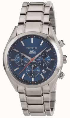 Breil Manta город нержавеющая сталь хронограф синий циферблат браслет TW1605