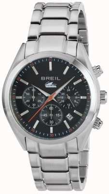 Breil Manta город нержавеющая сталь хронограф черный циферблат браслет TW1606