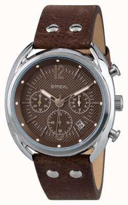Breil Beaubourg хронограф из нержавеющей стали матовый коричневый циферблат TW1663