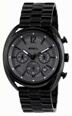 Breil Beaubourg нержавеющая сталь ip черный хронограф серый циферблат TW1664