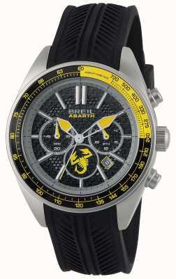Breil Abarth нержавеющая сталь ip черный хронограф черный и желтый TW1691