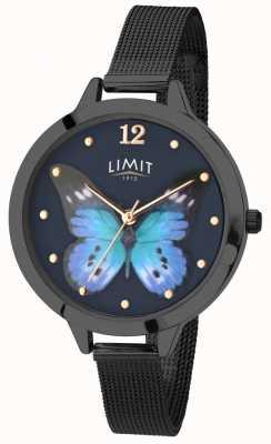 Limit Женская тайна сада черный pvd бабочка смотреть 6270.73