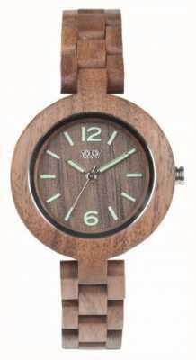 WeWood Мимозный орех | деревянный ремешок | деревянное лицо | 70205700