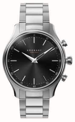 Kronaby 38mm sekel bluetooth сталь металлический браслет smartwatch A1000-2750