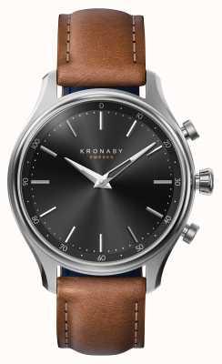 Kronaby 38mm sekel bluetooth сталь кожаный ремешок smartwatch A1000-2749
