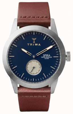 Triwa Герцог скрай коричневый классический серебристый SPST104-CL010212