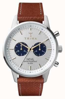 Triwa Loch nevil упал коричневый сшитый классический 2 NEST116-010212