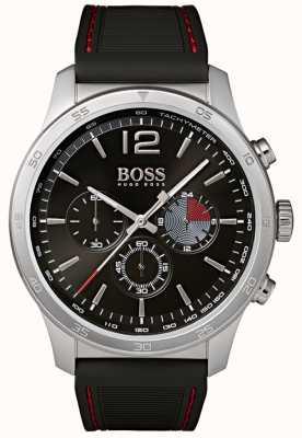 BOSS Мужские профессиональные часы с хронографом черного цвета 1513525