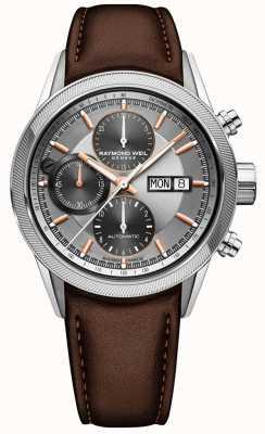 Raymond Weil Mens Freelancer автоматические часы с хронографом 7731-SC2-65655