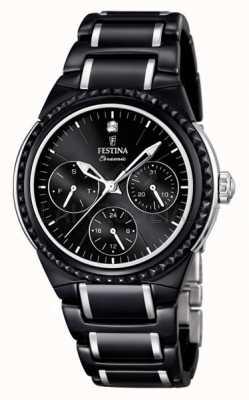 Многофункциональные керамические часы Festina F16699/4