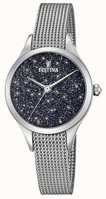 Festina Женские часы с браслетом из кристаллов сваровски F20336/3