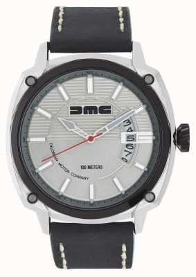 DeLorean Motor Company Watches Серебряный циферблат из серебристого серебра с альфа-dmc DMC-3