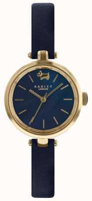 Radley Ladies 28mm кейс темно-синий циферблат кожаный ремешок RY2656