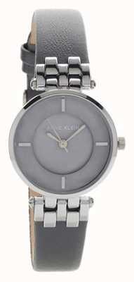 Anne Klein Женская лилиана серый серебряный чехол кожаный ремешок AK/N2685GMGY