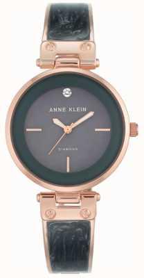 Anne Klein Женская аманда розового золота шкала серый циферблат AK/N2512GYRG