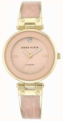 Anne Klein Женская аманда золотой корпус розовый циферблат AK/N2512LPGB