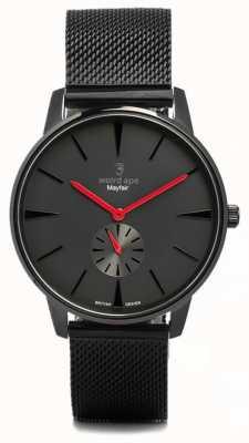 Weird Ape Mayfair все черная и красная сетчатая черная WA02-005615