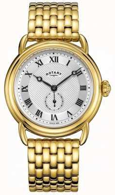 Rotary Мужской браслет с позолоченным золотом GB05338/21