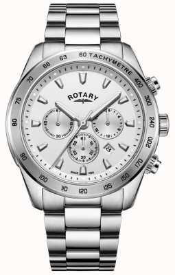 Rotary Браслет из хронографа Gents из нержавеющей стали GB05115/06