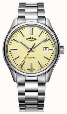 Rotary Мужская оксфордская браслет из нержавеющей стали GB05092/32