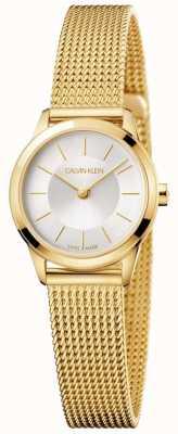 Calvin Klein Дамский браслет с золотой сеткой из белого золота K3M23526