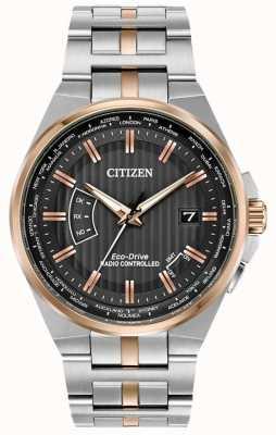 Citizen Вечный мужской мир из нержавеющей стали и розового золота ip CB0166-54H