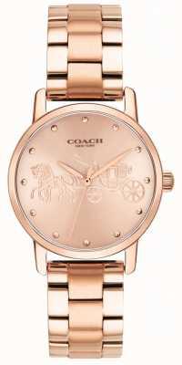 Coach Женские грандиозные браслеты и часы из розового золота 14502977
