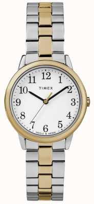 Timex Легкие женские часы 30 мм из нержавеющей стали TW2R58800