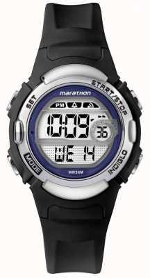 Timex Марафон черные резиновые часы TW5M14300