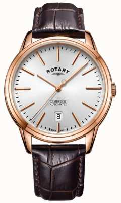 Rotary Мужские кулачковые часы с розовым золотом GS05252/02