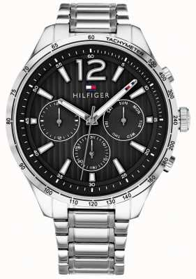 Tommy Hilfiger Мужские часы Gavin с хронографом из нержавеющей стали 1791469