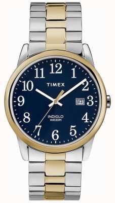 Timex Мужская 38-мм экспедиционная лента из двух тонких браслетов из нержавеющей стали TW2R58500