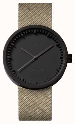 Leff Amsterdam Труба часы d42 черный чехол для песка cordura ремешок LT72013