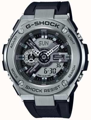 Casio G-шок из нержавеющей стали GST-410-1AER