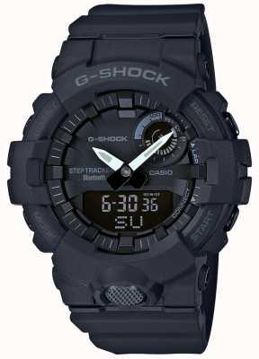 Casio G-shock bluetooth фитнес шаг трекер черный GBA-800-1AER