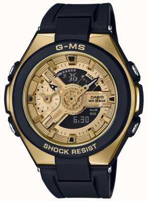 Casio Baby-g g-ms гламурный золотой будильник-хронограф MSG-400G-1A2ER