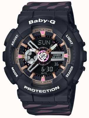 Casio Хронограф аварийного сигнала Baby-g BA-110CH-1AER