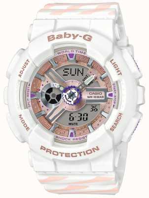 Casio Хронограф аварийного сигнала Baby-g BA-110CH-7AER