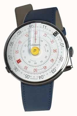 Klokers Klok 01 желтый часы head индиго синий одиночный ремешок KLOK-01-D1+KLINK-01-MC3