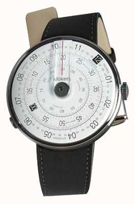 Klokers Klok 01 черный циферблат часов черный двойной ремешок KLOK-01-D2+KLINK-02-380C2