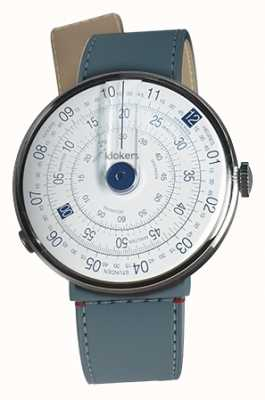Klokers Klok 01 синий часы головка синий джинс пролив одиночный ремешок KLOK-01-D4.1+KLINK-04-LC10
