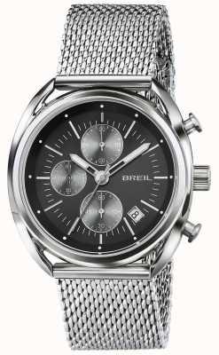 Breil Beaubourg нержавеющая сталь хронограф черный циферблат сетка TW1513