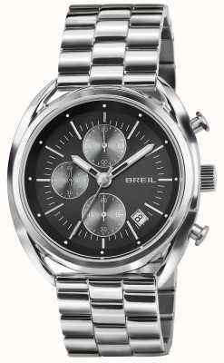 Breil Beaubourg нержавеющая сталь хронограф черный циферблат браслет TW1514