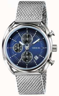 Breil Beaubourg нержавеющая сталь хронограф синий циферблат TW1529