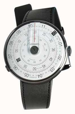 Klokers Klok 01 черная часовая головка черный сатиновый ремешок KLOK-01-D2+KLINK-01-MC1