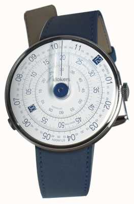 Klokers Klok 01 синий часы head индиго голубой одиночный ремешок KLOK-01-D4.1+KLINK-01-MC3