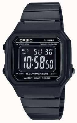 Casio Vintage core классический цифровой осветитель черный ip-покрытие B650WB-1BEF