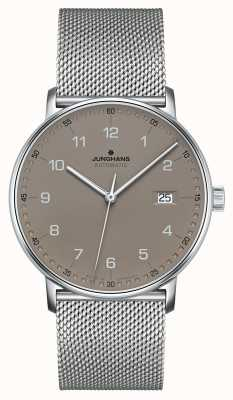 Junghans Создайте автоматический браслет из миланской сетки 027/4836.44